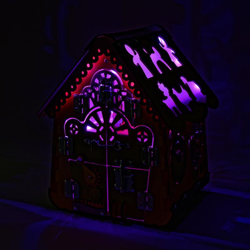 Бизидом Пряничный с подсветкой 35х41х35 фото
