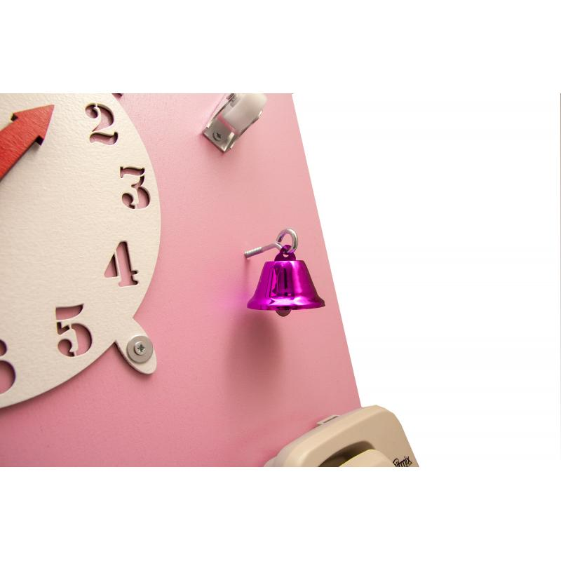 Бизиборд Классик с магнитно-меловой доской Питайя 50х60 см фото