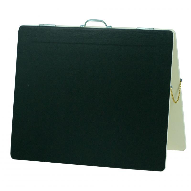 Бизиборд Классик с магнитно-меловой доской Крем-Брюле 50х60 см фото