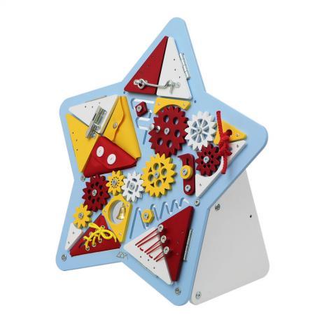 Бизиборд Звезда Голубая