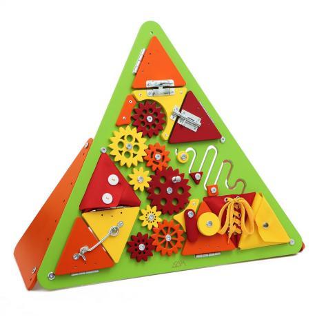 Бизиборд Треугольник Зеленый