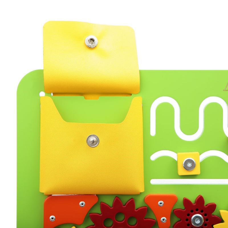 Бизиборд Квадрат Зеленый фото