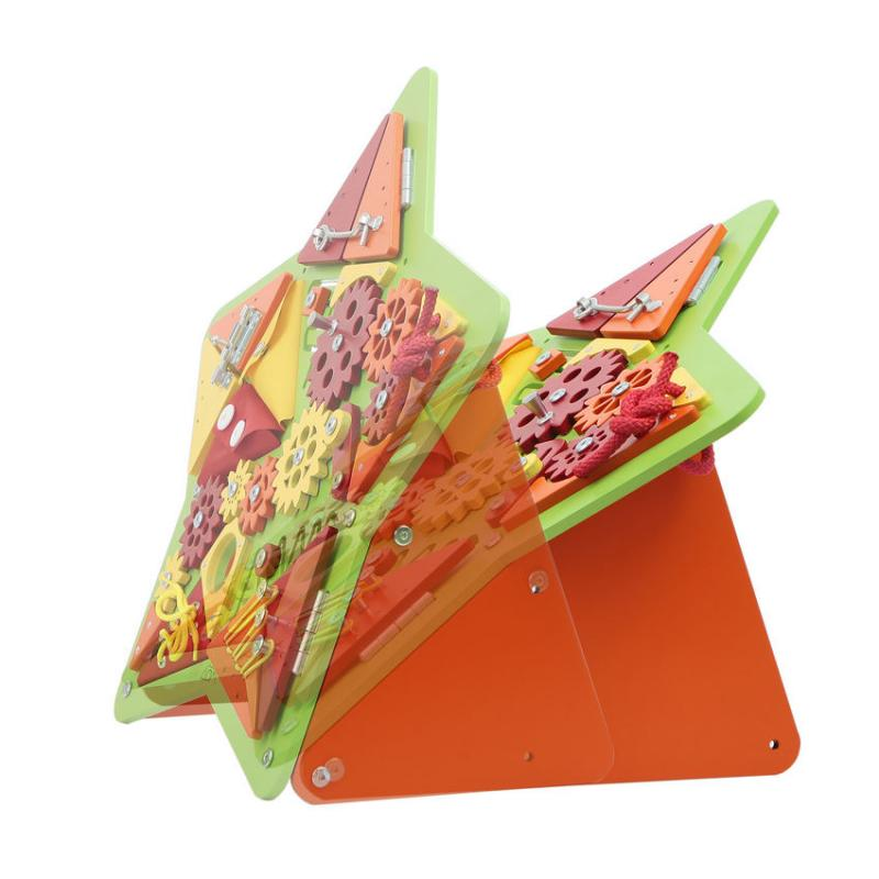 Бизиборд Звезда Зеленая фото