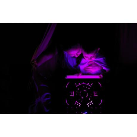 Бизикуб со световым планшетом 31х31 см