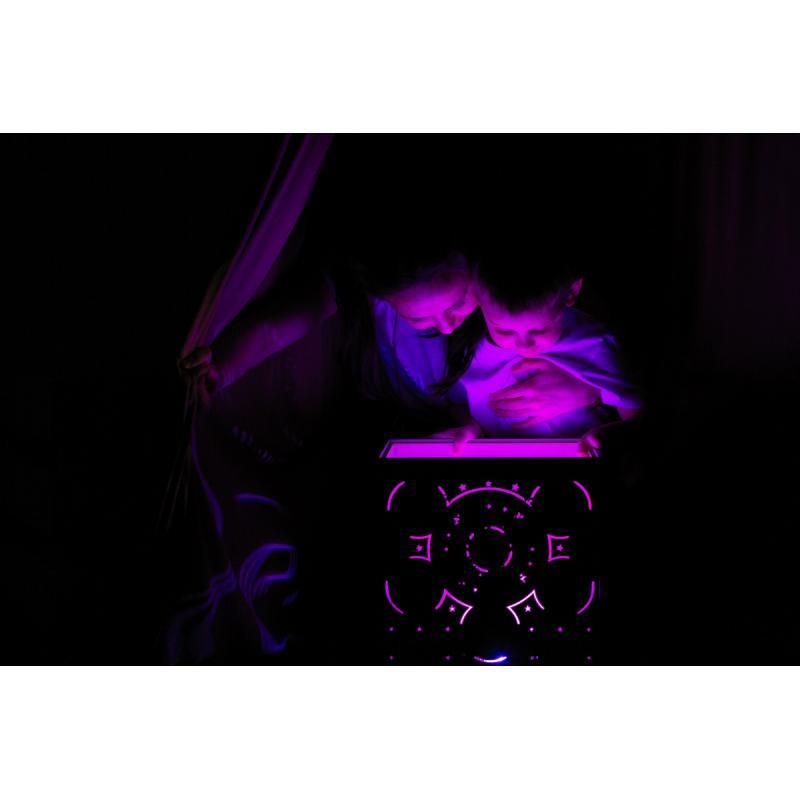 Бизикуб со световым планшетом 31х31 см фото