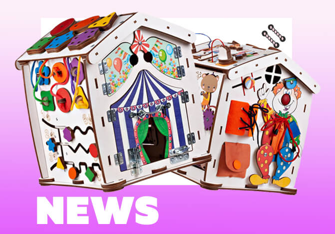 Новинка от Evotoys - Знайка Цирк Мини!