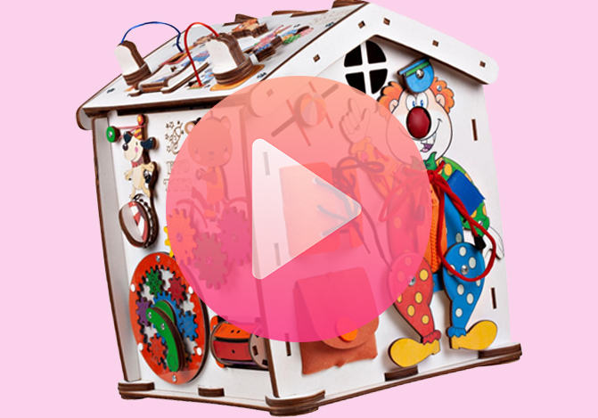 Видео обзор Бизидом Знайка цирк Мини 30X35 со светом